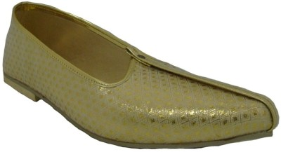 Senso Vegetarian Shoes Mens Gold Mojaris