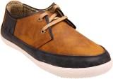 Belleza Mens Casual Sneakers (Tan)