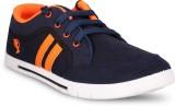 Navchetan Sneakers (Blue, Orange)