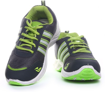 Aerostone ARS-PLAYER-1-DGREY-PGREEN Running Shoes