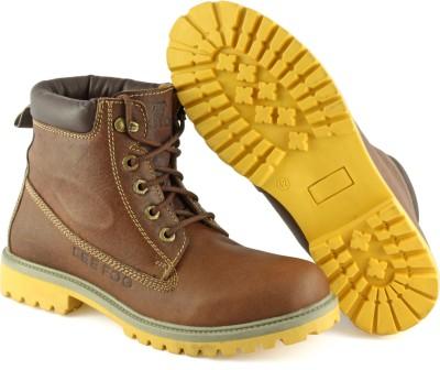 Lee Fog Old High German Baldawin Brown Boots