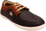 Belleza Mens Casual Sneakers (Black)
