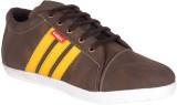 Vajazzle Smart Look Sneakers (Brown)