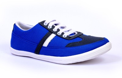 Sam Stefy Blue White A6 Canvas Shoes