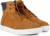 Peter England PE Mid Ankle Sneakers (Bei...