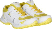 Knight Ace Kraasa Sports Running Shoes, Cycling Shoes, Walking Shoes, Cricket Shoes(White, Yellow) best price on Flipkart @ Rs. 499