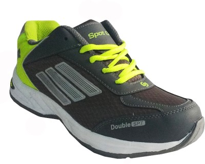 Spot On FKSP-E-250-DGRY-GRN Running Shoes