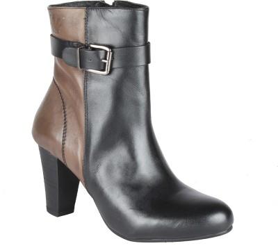Salt N Pepper 14-349 Fancy Black Seal Boots Boots