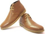 Shoozix Augustus Casual Shoes (Brown)