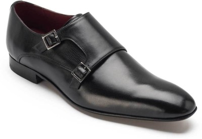 Heel & Buckle Double Monk Strap Shoes Monk Strap