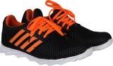 Stylish Step Running Shoes (Black, Orang...