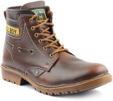 Anupamaa Hill Man Boots (Brown)