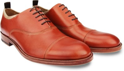 johnston&murphy Clayton Cap Toe Lace Up Shoes