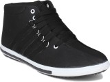 Histeria Honk Black Canvas Casual Shoes ...