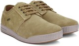 Woodland Leather Sneakers (Beige)