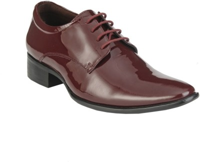 Delize 3153-Cherry Lace Up Shoes(Burgundy)
