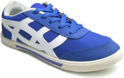 TerraVulc Blue and White Canvas Shoes