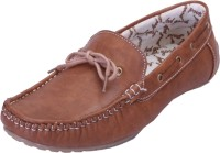 Shoebook Exquisite Tan Casual Boat Shoes