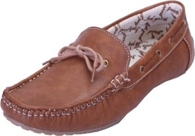 Shoebook Exquisite Tan Casual Boat Shoes(Tan)