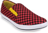 Jynx Check Casual Casual Shoes (Red)