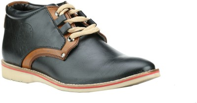 Step Mark FCA-5002-BLACK-TAN Casuals Shoes