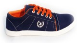 Woodcraft Action Sneakers (Navy, Orange)
