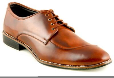 Devee Arabian Style Bourkan Brown Lace Up Shoes
