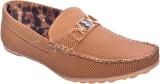 Klinga Men's Tan Loafers (Tan)