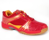 RXN Red Badminton Shoes (Red, Black)