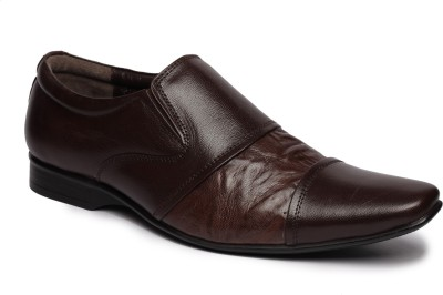 Feather Leather 029 Slip On Shoes