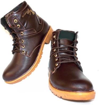Leather Like Mudland Stylish Boots