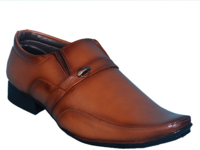 Smoky Brown Formal Shoe Slip On