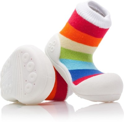Nv's Attipas Rainbow White Boots