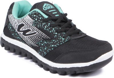 ASIAN Running Shoes(Black, Green)