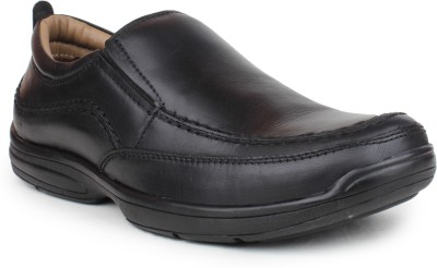 Shumael Casual Leather Slip On Shoes