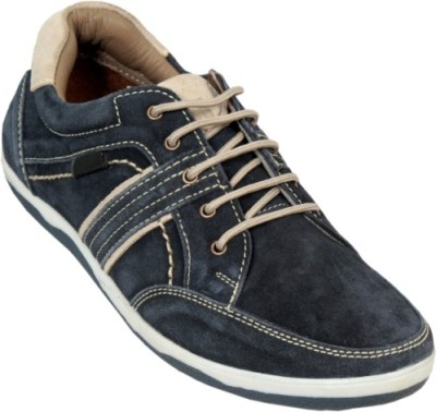 Ztoez Blue Casual Shoes