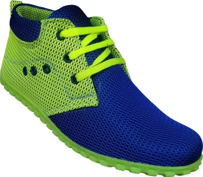 K-NINE BLUE GREEN TRENDY CASUAL SHOES FOR WOMEN,S Sneakers, Outdoors