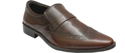 PFC Brouge Slip On Shoes