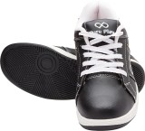 Pure Play Casual Shoes (Black, White)