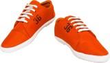 Prakum Canvas Shoes (Orange)
