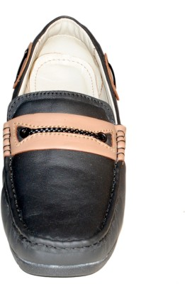 Leather Zone Loafers