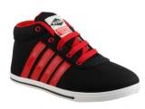 PU-Slim Sneakers (Black)