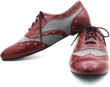 Rhythm & Shoes Elana Maroon Casuals