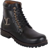 Austrich Stylish and Trendy Boots (Black...
