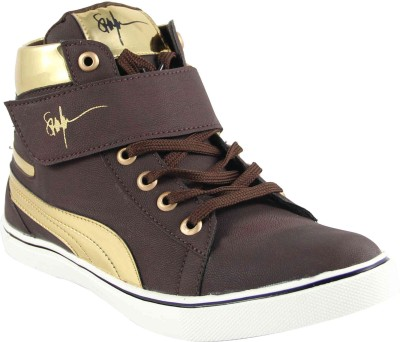 La Shades Jorden Signature High Ankle Sneakers
