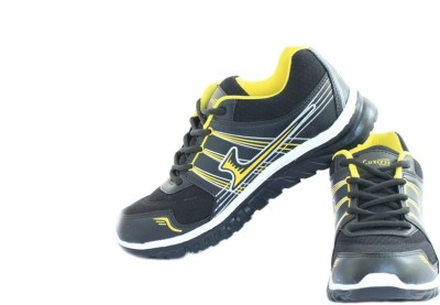 Luxcess Black Running Shoes