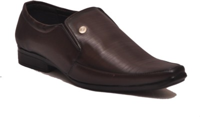 Shoe Mate Brown Party Wear Shoes