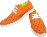 Hitmax Canvas Shoes (Orange)