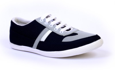 Sam Stefy Navy Blue White A6 Canvas Shoes