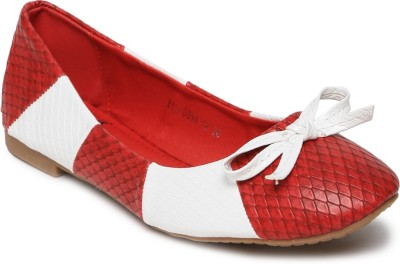 Mast & Harbour Bellies(Red) at flipkart